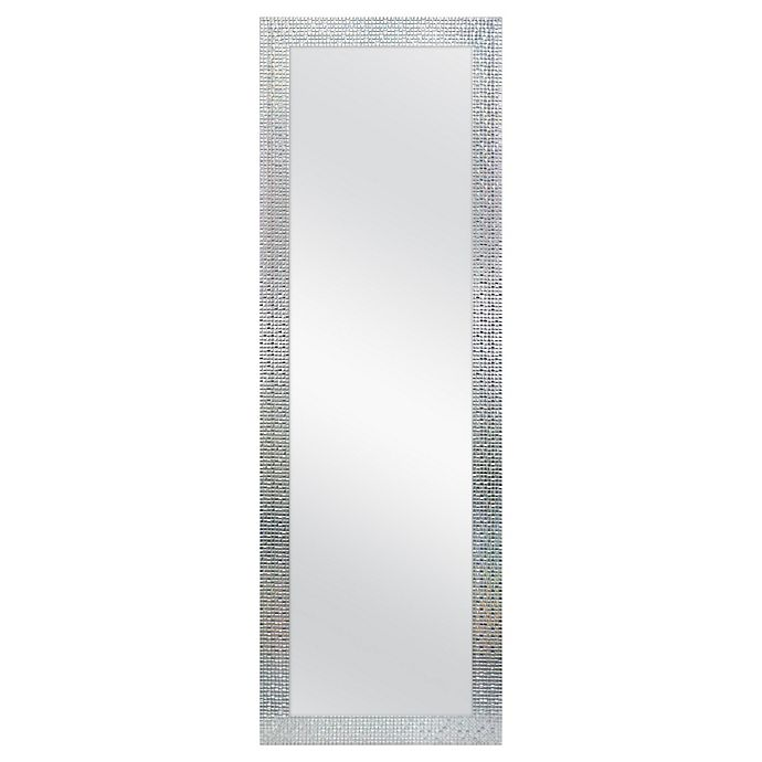 Alternate image 1 for Mosaic Tile 18-Inch x 54-Inch Rectangular Over-the-Door Mirror