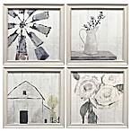 Prinz Ava Barrett Farmhouse Framed Wall Art (Set of 4)