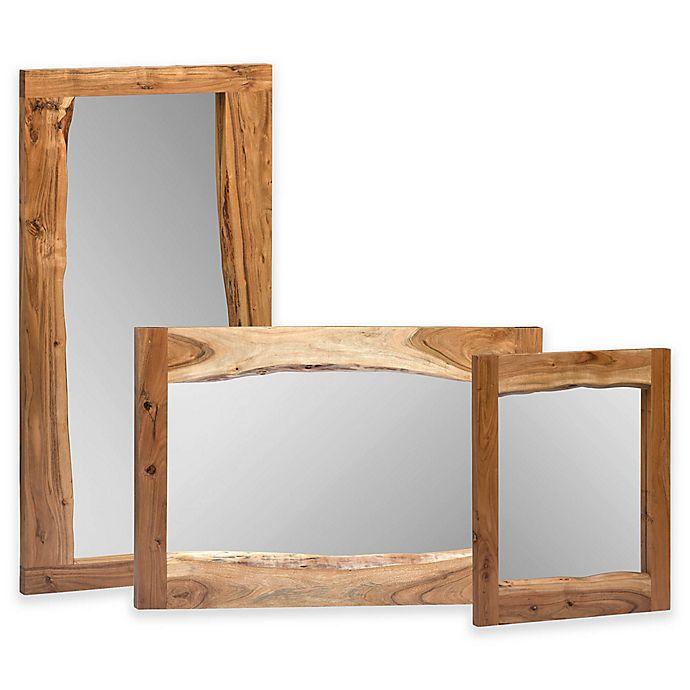 Alternate image 1 for Apline Live Edge Rectangular Mirror
