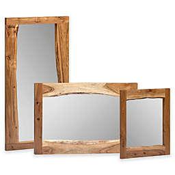 Apline Live Edge Rectangular Mirror