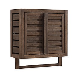 Haven™ No Tools Bamboo Wall Cabinet