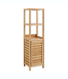 Mueble alto para baño Haven™ de bambú en natural