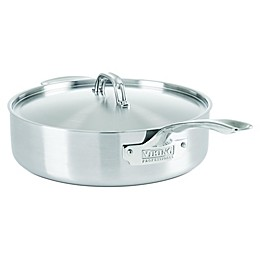 Viking® Professional 5-Ply Stainless Steel Covered Saute Pan