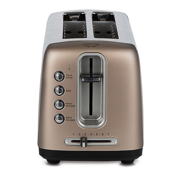 Alternate image 1 for Cuisinart® 4-Slice Artisan Bread Toaster in Umber