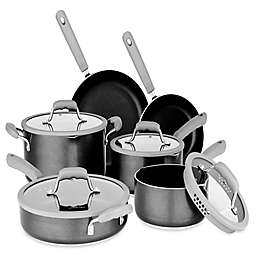 Chopped™ Nonstick Aluminum 10-Piece Cookware Set
