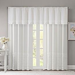 Madison Park Bessie Window Curtain Panel and Valance