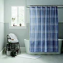 Ugg® Aira Shower Curtain in Navy