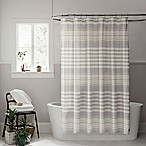 UGG® Lunar Stripe 72-Inch x 72-Inch Shower Curtain in Seal