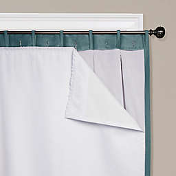 SmartBlock™ Rod Pocket Insulating Blackout Curtain Liner