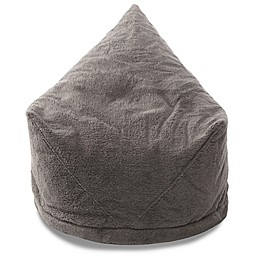 Mimish® Velboa Sherpa Storage Bean Bag Lounger Chair