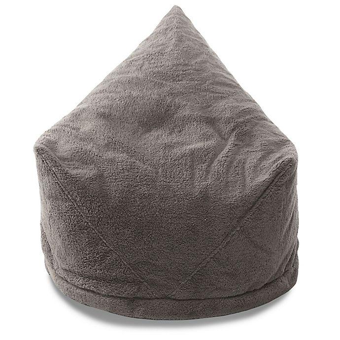 Alternate image 1 for Mimish® Velboa Sherpa Storage Bean Bag Lounger Chair