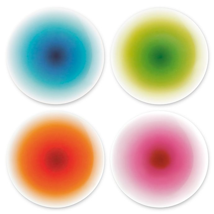 Alternate image 1 for French Bull® Ombre Multicolor Appetizer Plate (Set of 4)