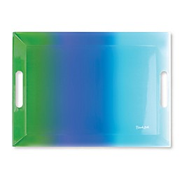 French Bull® Ombre Rectangular Tray in Blue