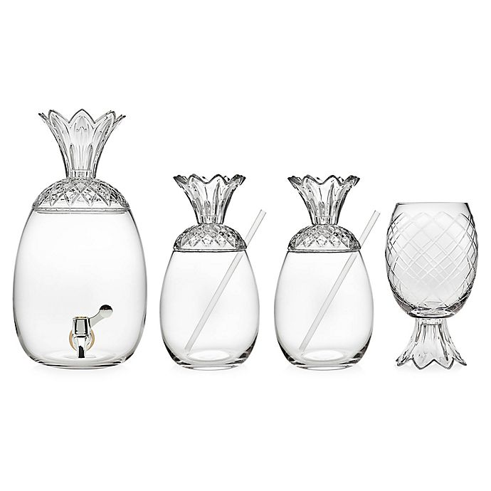 Alternate image 1 for Pineapple Crystal Drinkware Collection