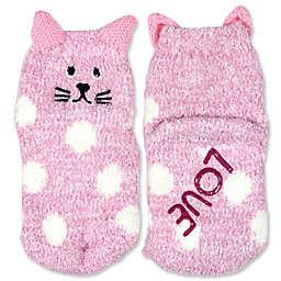 ED Ellen DeGeneres Cat Cozy Socks in Pink