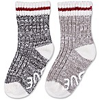 ED Ellen DeGeneres 3-12M 3-Pack Marl Crew Socks in Grey