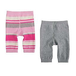 Cuddl Duds® 2-Pack Pants in Grey/Pink
