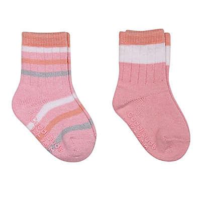 Cuddl Duds® 2-Pack Boot-Cut Socks in Coral/Pink