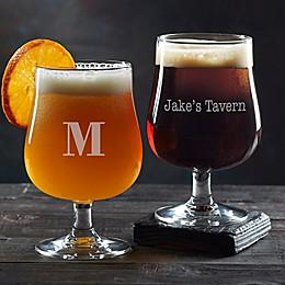 Classic Celebrations Belgium Craft Beer Glass