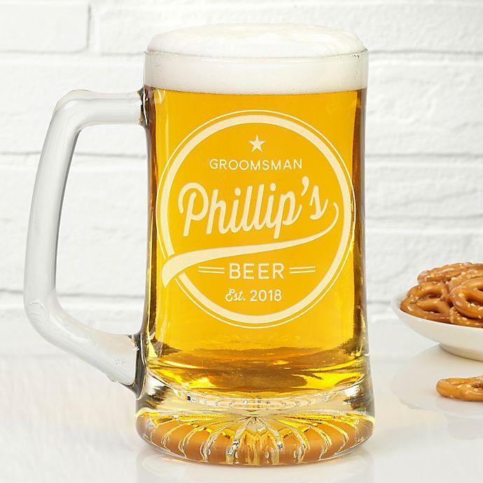 Alternate image 1 for Groomsmen Brewing Co. Beer Mug