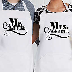 The Happy Couple Apron