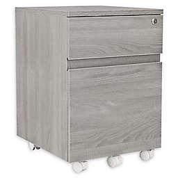 Techni Mobili 2-Drawer Filing Cabinet in Grey