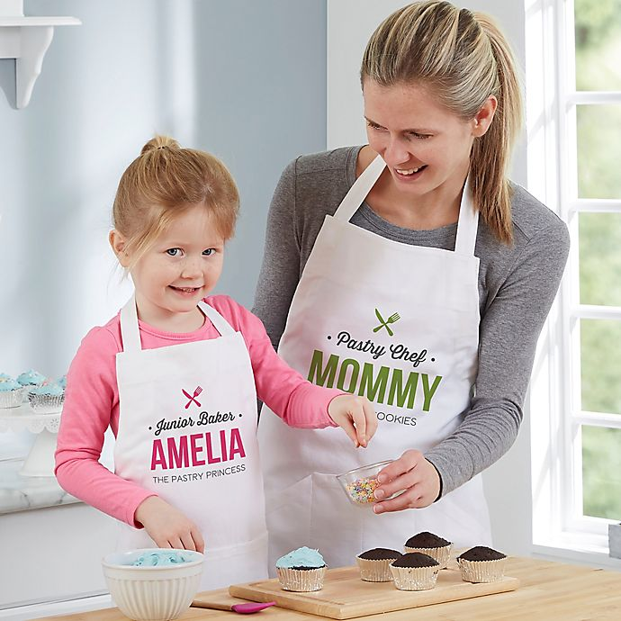 Alternate image 1 for Little Chef Personalized Youth Apron