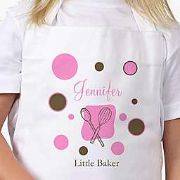 Lil' Baker Polka Dot Youth Apron
