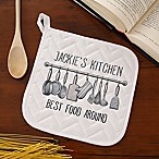 Customize the Seasoned With Love Potholder