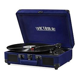 Victrola™ Velvet Suitcase Bluetooth™ Record Player