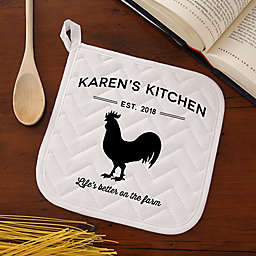 Farmhouse Kitchen Potholder
