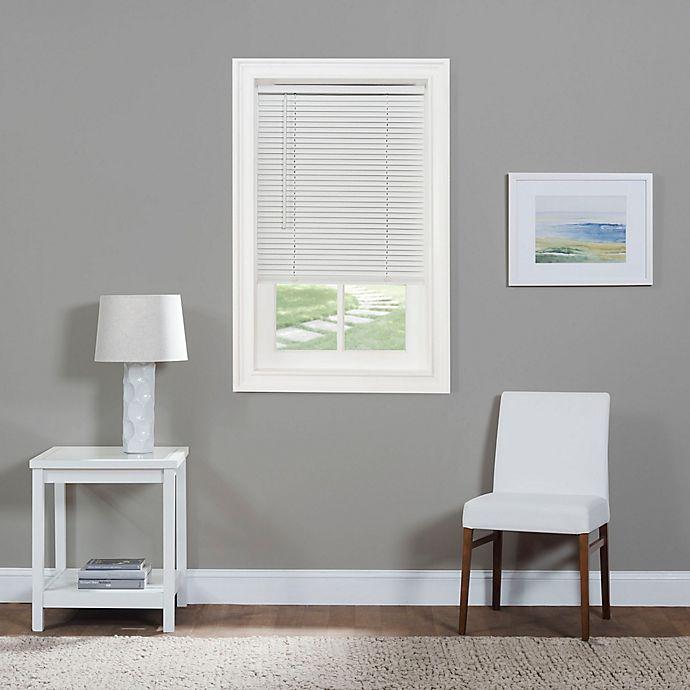 Alternate image 1 for GII Morningstar 36-Inch x 64-Inch Cordless Mini Blind in White