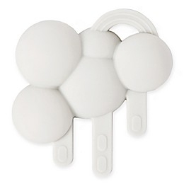 Doddle & Co.® Looks Like Rain Pop Silicone Teether in White