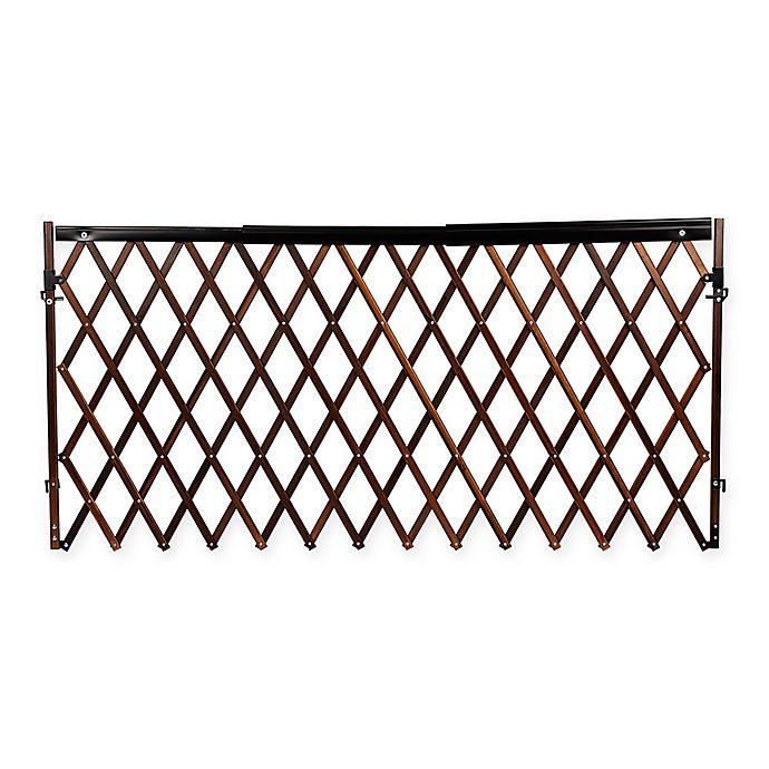 Alternate image 1 for Evenflo® Walk-Thru™ Expansion Hardware-Mount Room Divider Safety Gate in Dark Wood