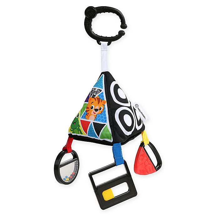 Alternate image 1 for Baby Einstein™ Playful Pyramid High Contrast Toy