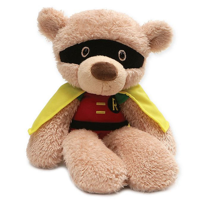 Alternate image 1 for GUND® DC Comics Fuzzy Robin Plush Toy
