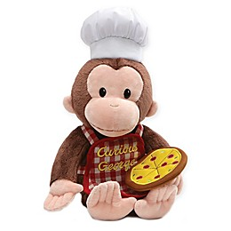 GUND® Curious George with Pizza Plush Toy