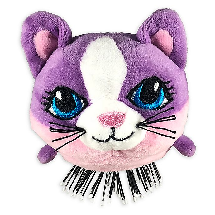 Alternate image 1 for Tangle Pets™ Cupcake the Cat Detangling Hair Brush