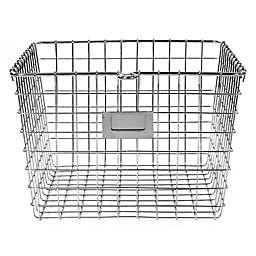 Spectrum™ Medium Storage Basket in Chrome