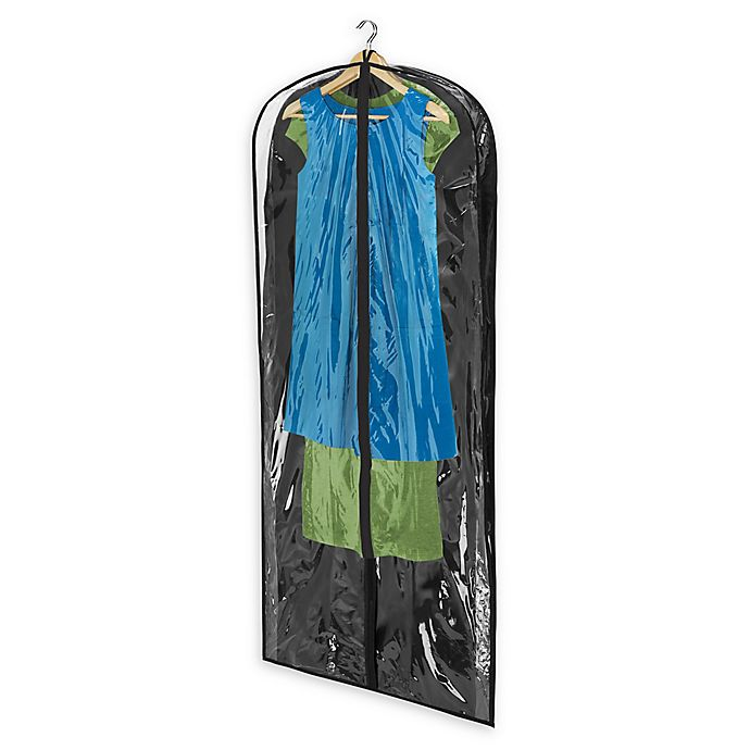 Alternate image 1 for Honey-Can-Do® 2-Pack Dress Bags in Black
