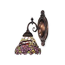 ELK Lighting 1-Light Mix-N-Match Sconce in Lilac Floral