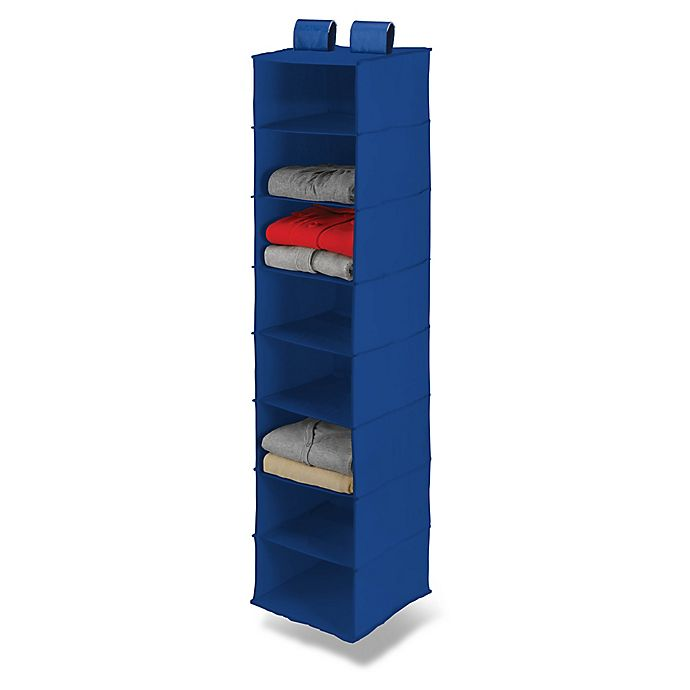 Alternate image 1 for Honey-Can-Do® 8-Shelf Hanging Closet Organizer