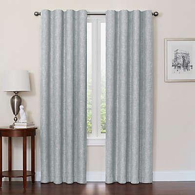 Quinn 100% Blackout Insulated Rod Pocket/Back Tab Window Curtain Panel
