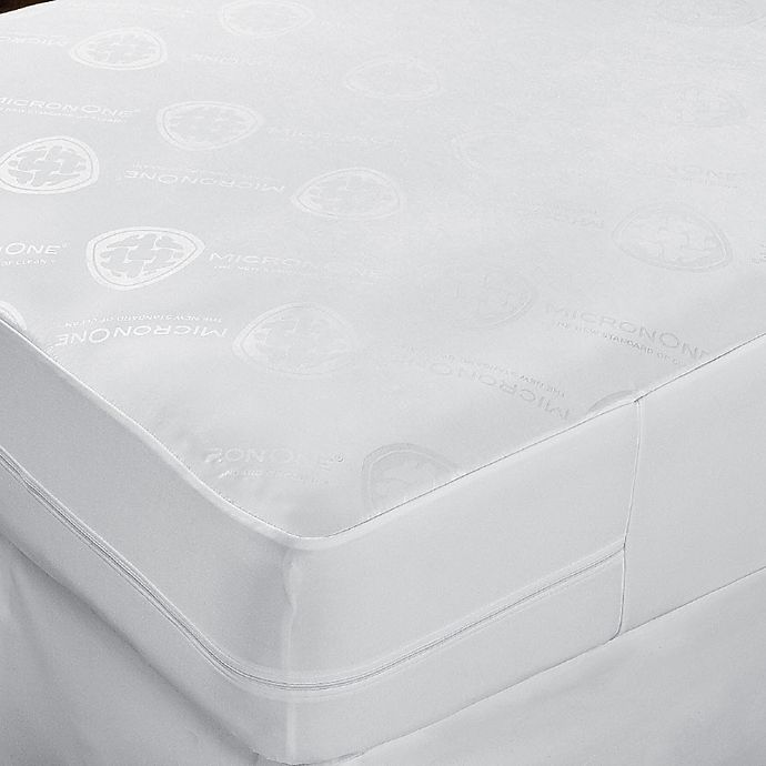 Alternate image 1 for CleanRest® Complete Twin Mattress Cover in White
