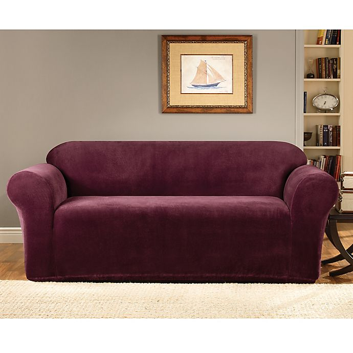 Alternate image 1 for Sure Fit® Stretch Metro Furniture Slipcover