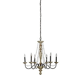 Maybel Chandelier in White