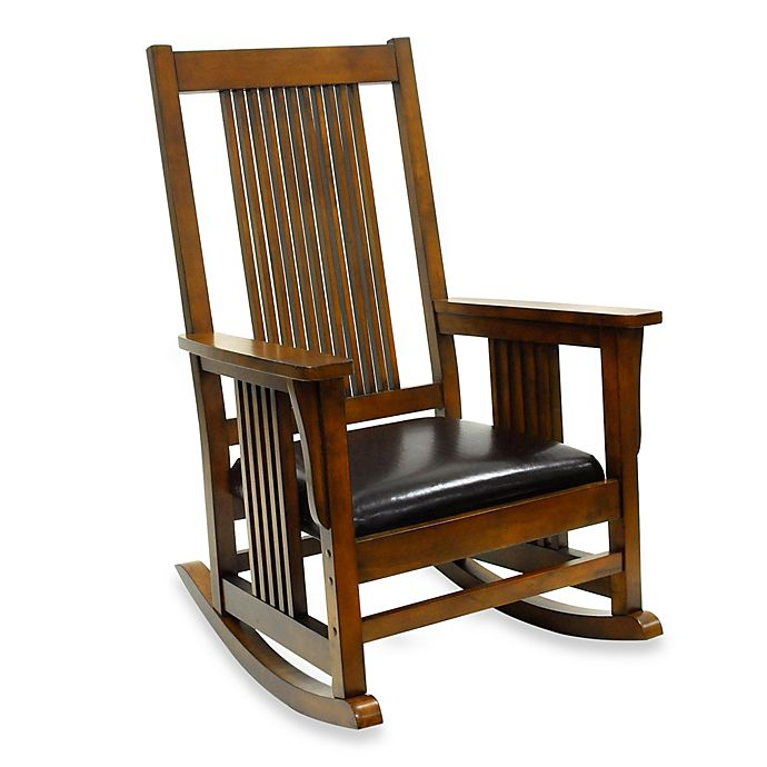 Alternate image 1 for Carolina Chair & Table Company Mission Rocker in Chestnut