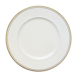 Elle Decor® Charger Plates in White/Gold (Set of 4)