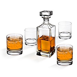 Godinger Social 5-Piece Crystal Whiskey Set
