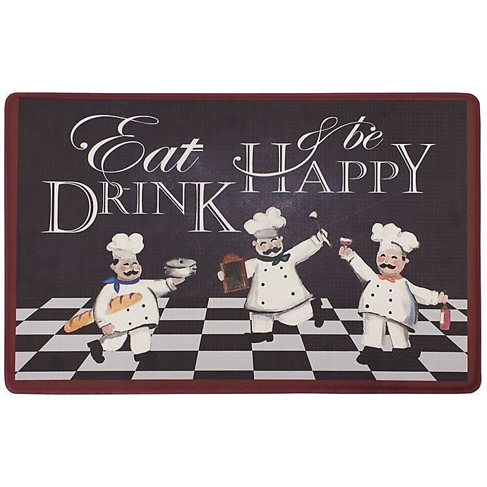 Alternate image 1 for Chef Gear Eat Drink Be Happy 20\